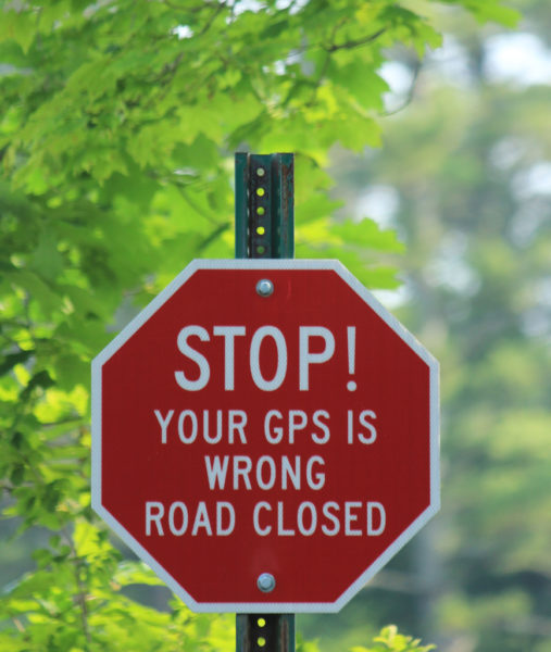 GPS Warning by jennymcb