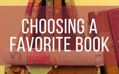 Choosing a Favorite Book